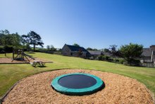 Trampoline & Play Area